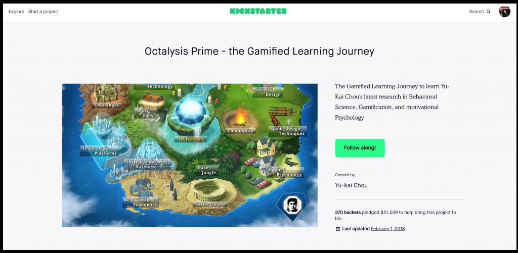 Octalysis Prime Kickstarter