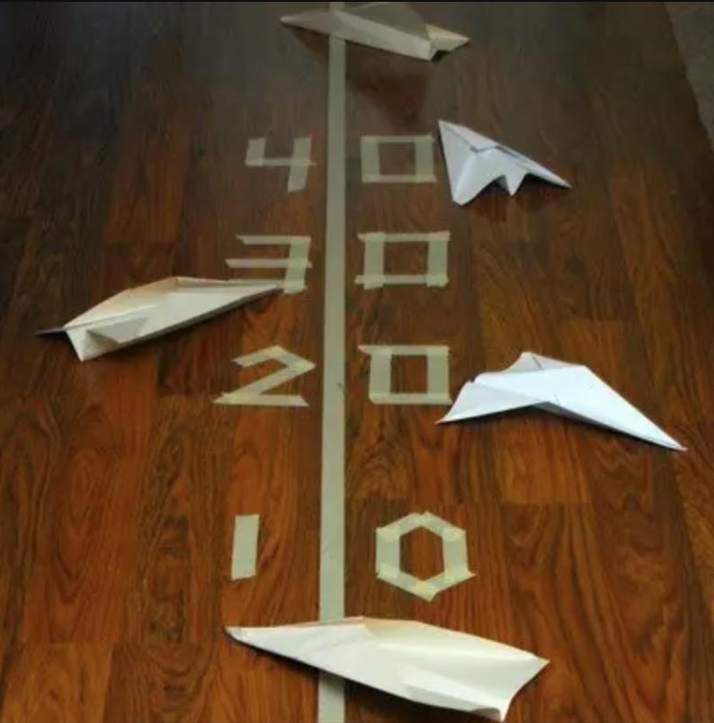 Naredi sam: papirnato letalo