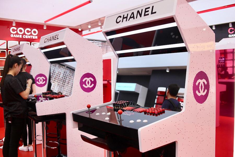 Primer Chanel retail igrifikacije.